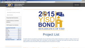 yisdproject list